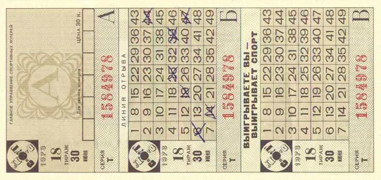 A Brief History of the Victory Lottery