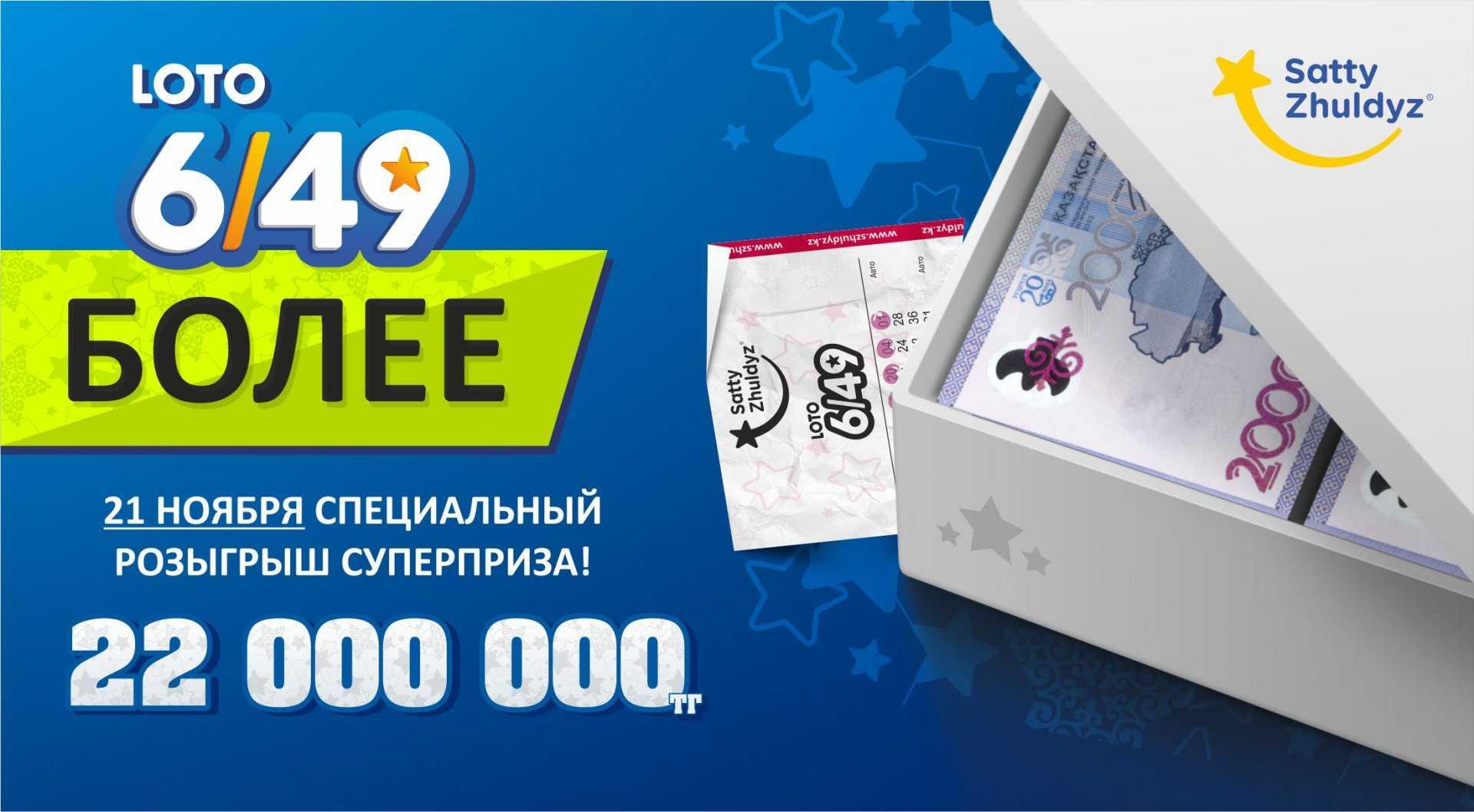 Купите билет telebingo или loto 6/49 с помощью sms