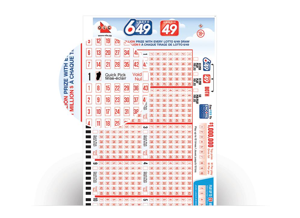 Kanadai lottó lottó 649 (6 nak,-nek 49)