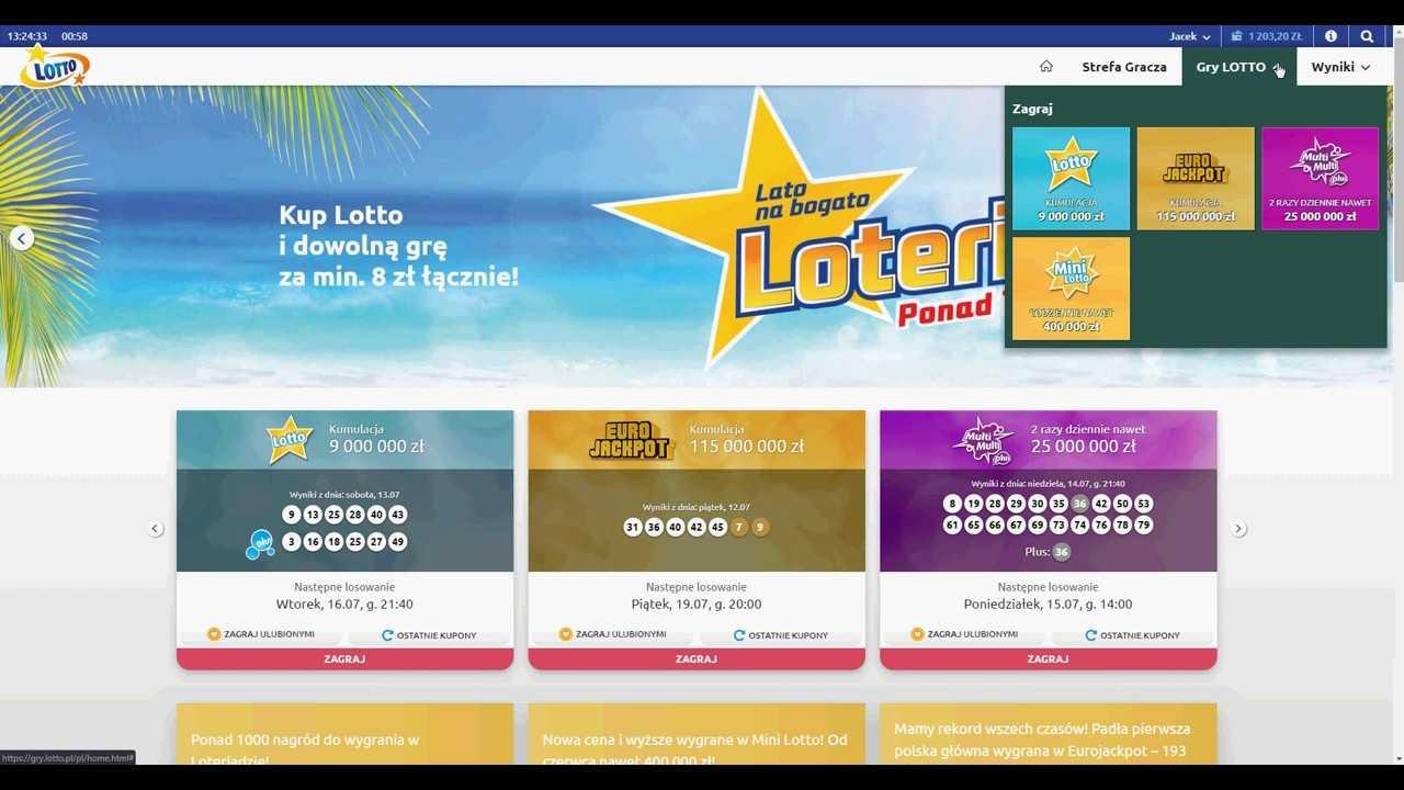 Lotto polacco lotto (6 di 49)