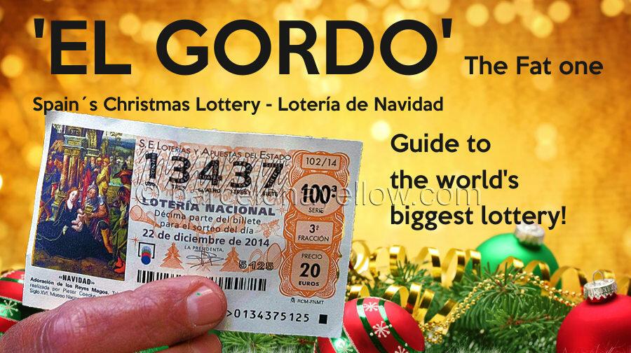 Nytårs lotteri i Spanien. Fed.