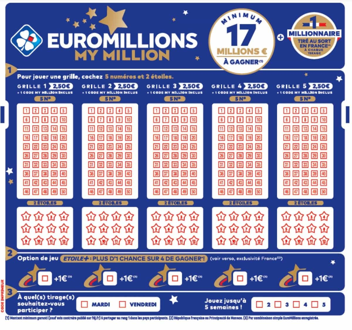 Eurojackpot draw results | lottomania