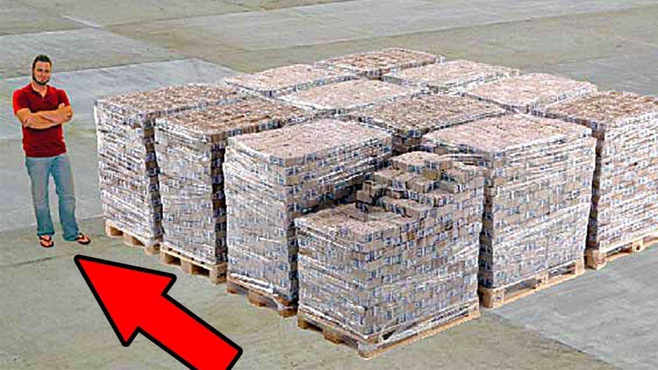 Hvordan ser det ut 1 000 000 000 dollar