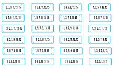 Lotterispilmetoder: mulige strategier til valg af numre og billetter