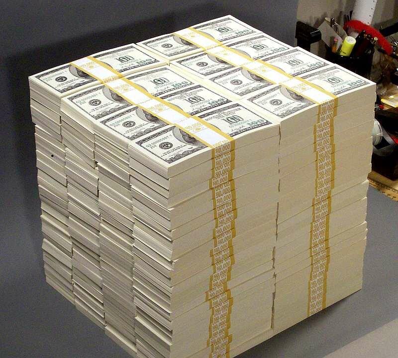 1000000000 amerikanske dollar (usd) i rubler (gni) for i dag, hvor mye er en milliard amerikanske dollar