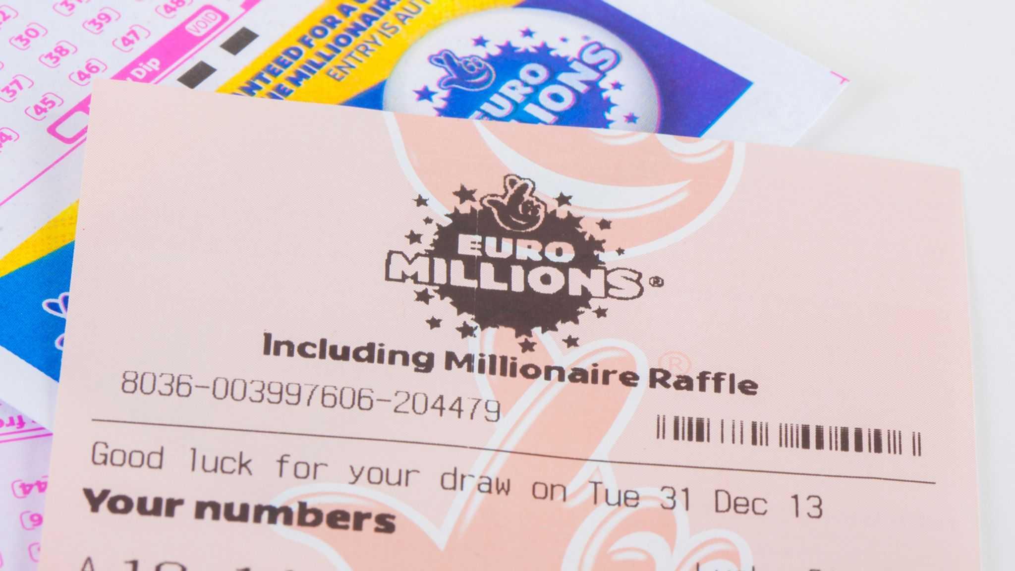 Spanska lotteri euromillioner (5 из 50 + 2 av 12)