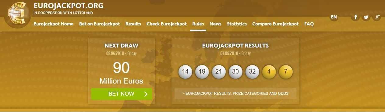 Eurojackpot اليانصيب الأوروبي