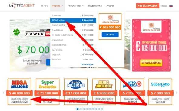 Hvordan man spiller og vinder mega million lotteriet fra Rusland?