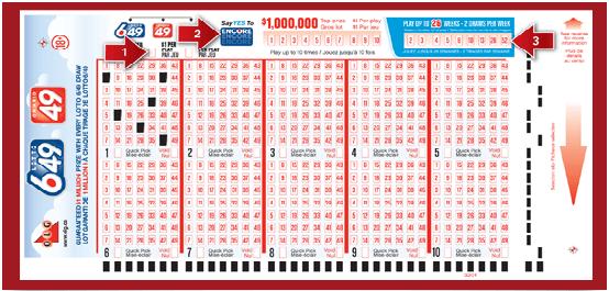Lottó lottó 6 ki 49 - hogyan kell játszani Oroszországból
