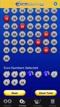 Europejska loteria Eurojackpot