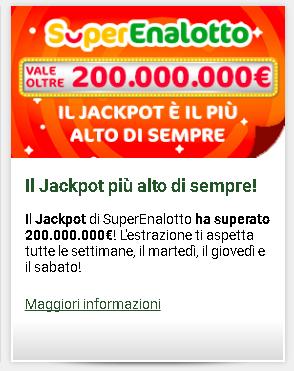 Где купить купоны, чтобы играть в итальянской лотереи superenalotto? покупка билетов на итальянские лото.