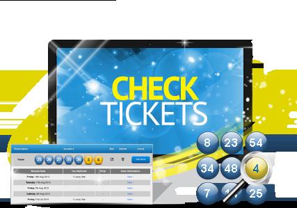Scegliere i numeri della lotteria