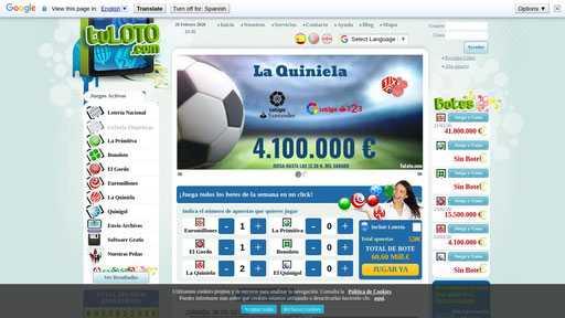Сайт hispaloto.es - онлайн сео / seo проверка анализ аудит сайта hispaloto.es | портал whois.uanic.name