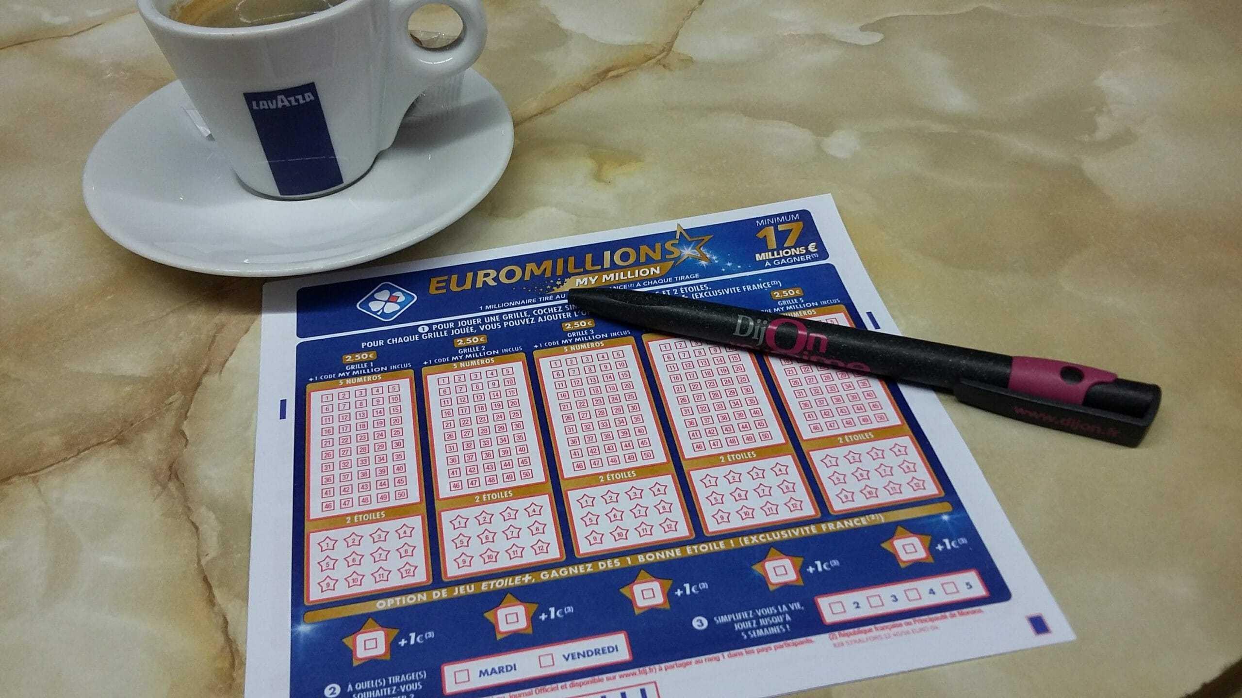Euromillions resultater | derniers tirages & tidligere