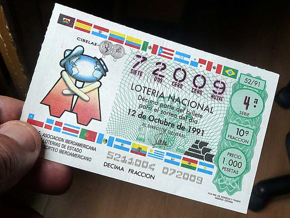 Spanish Christmas Lottery - timelottery