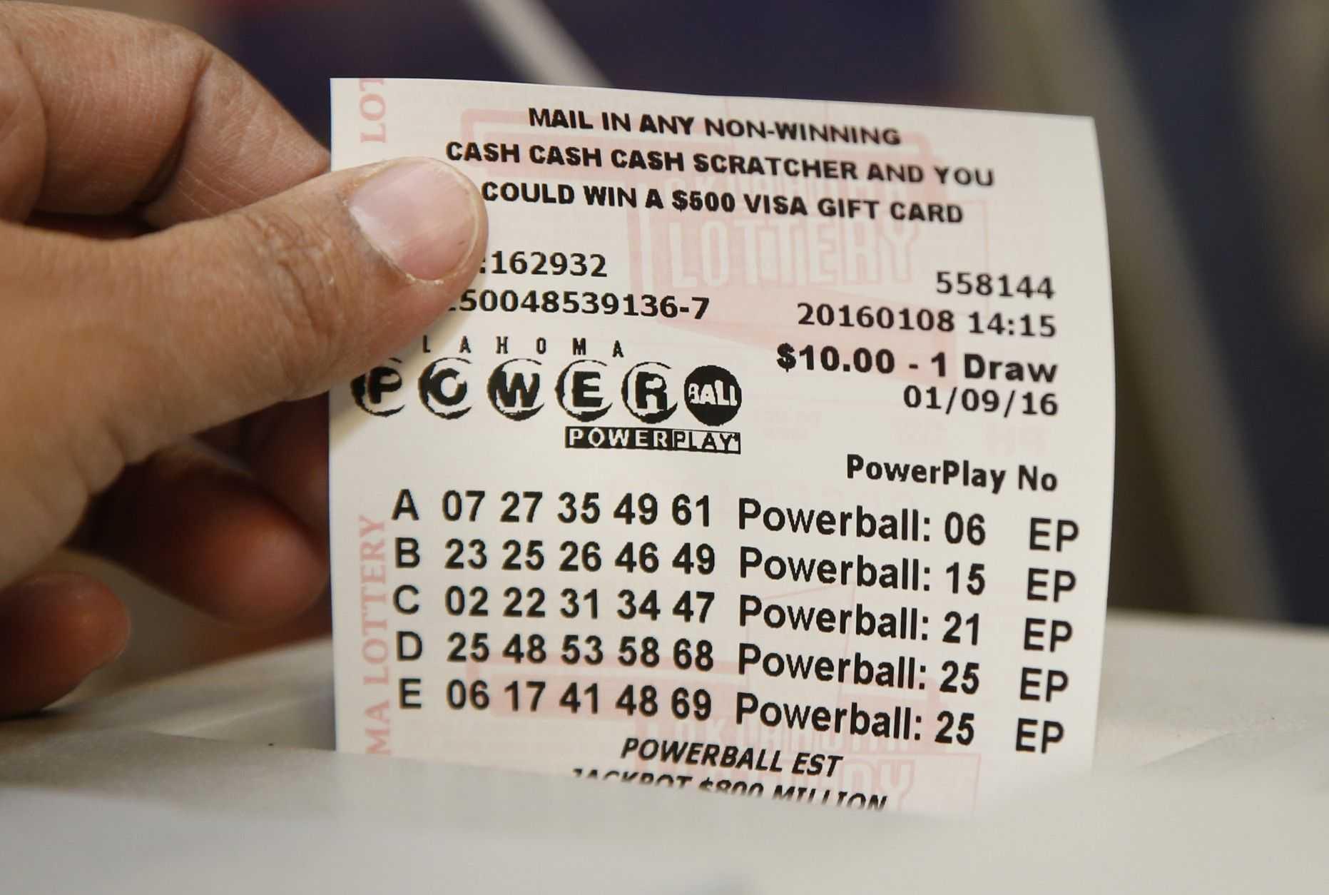 Как играть в американскую лотерею powerball (онлайн) в россии | лотереи мира