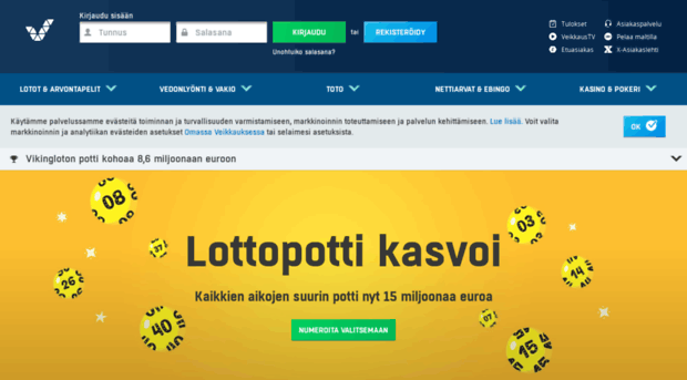 Kết quả xổ số Phần Lan - kết quả xổ số veikkaus chính thức