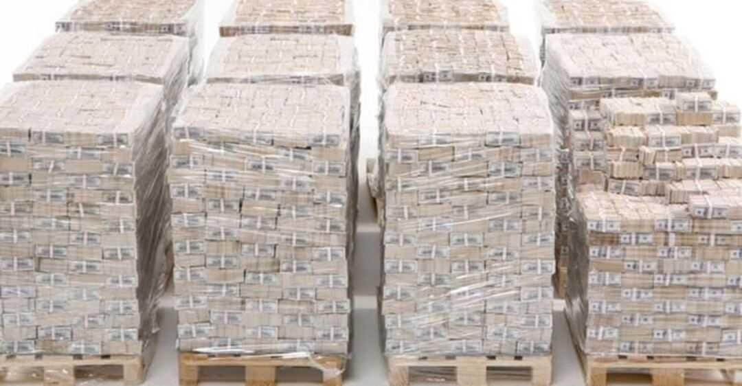 Hvordan en milliard dollar ser ut i et eksempel