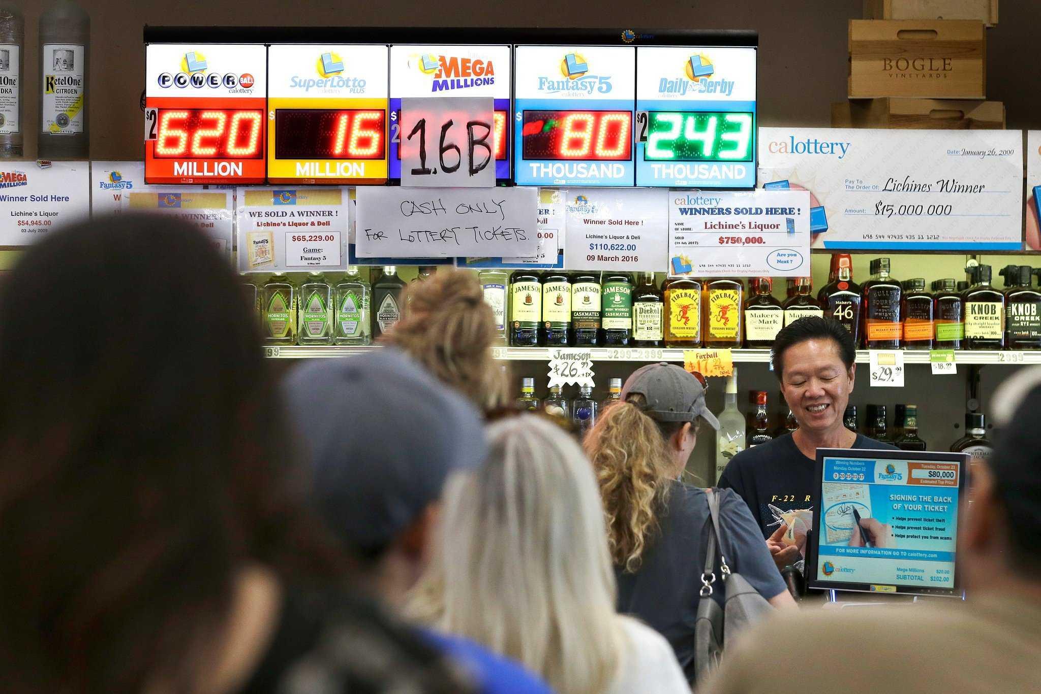 10 największe wygrane na loterii w Rosji i na świecie