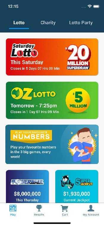 Australia saturday lotto results