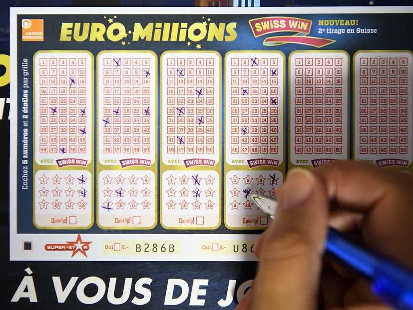 Euromillions results for 24th june 2011