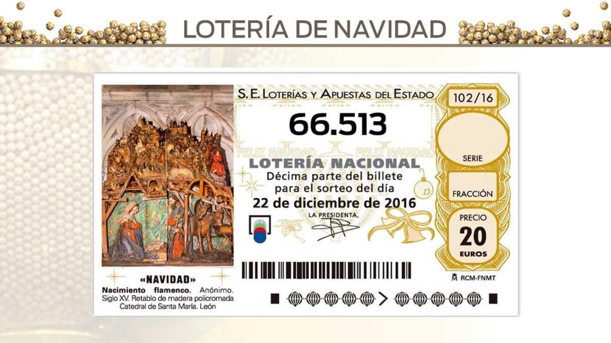 Loteria de navidad 2018, todos los números premiados