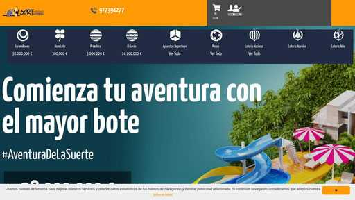 Hispaloto.es teknologiprofil