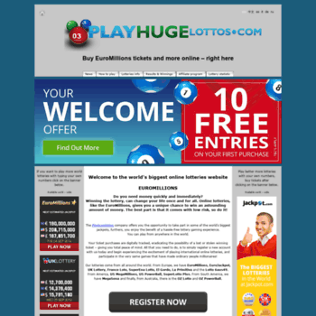Euromillions - den officiella sajten för europeiska lotteri euromillions, spela loto från ryssland, recensioner | stora lotter