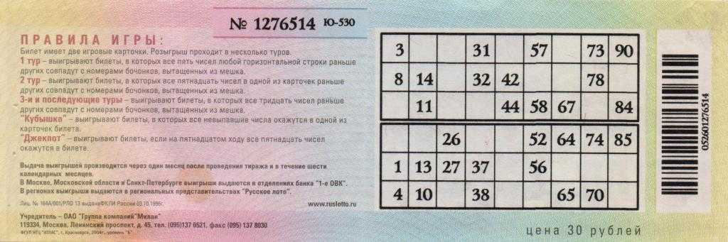 12 schemes for winning the lottery - 100% result