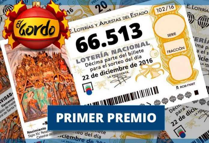 Рождественская лотерея в испании