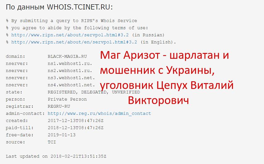 Анализ сайта lotolion.com