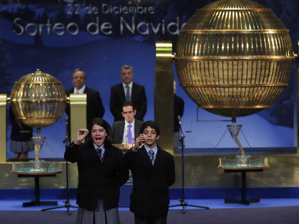Испанская рождественская лотерея