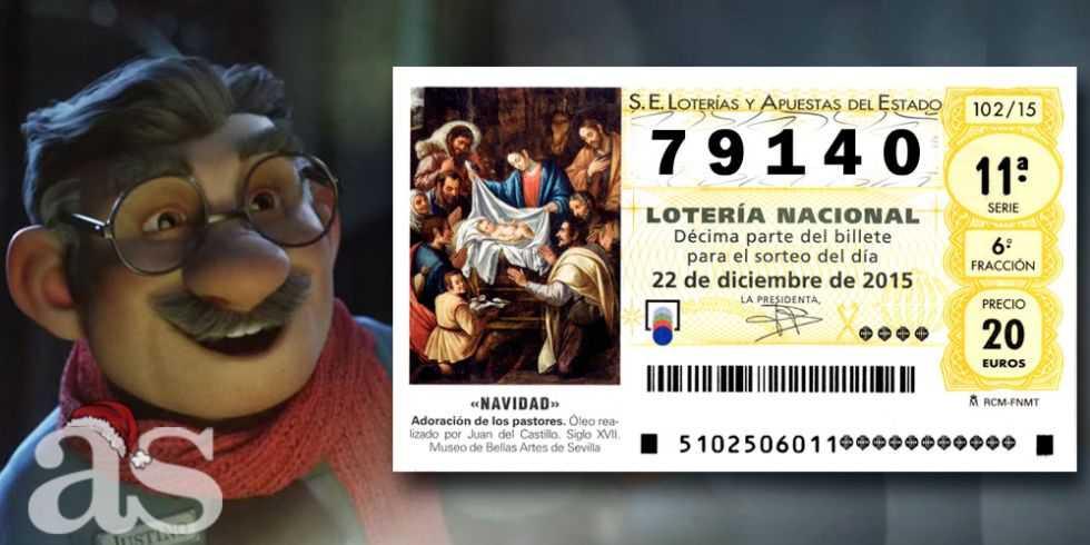 Spansk julelotteri - timelotteri