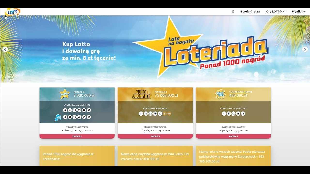 Jouez au loto polonais en ligne: comparaison de prix sur lotto.eu