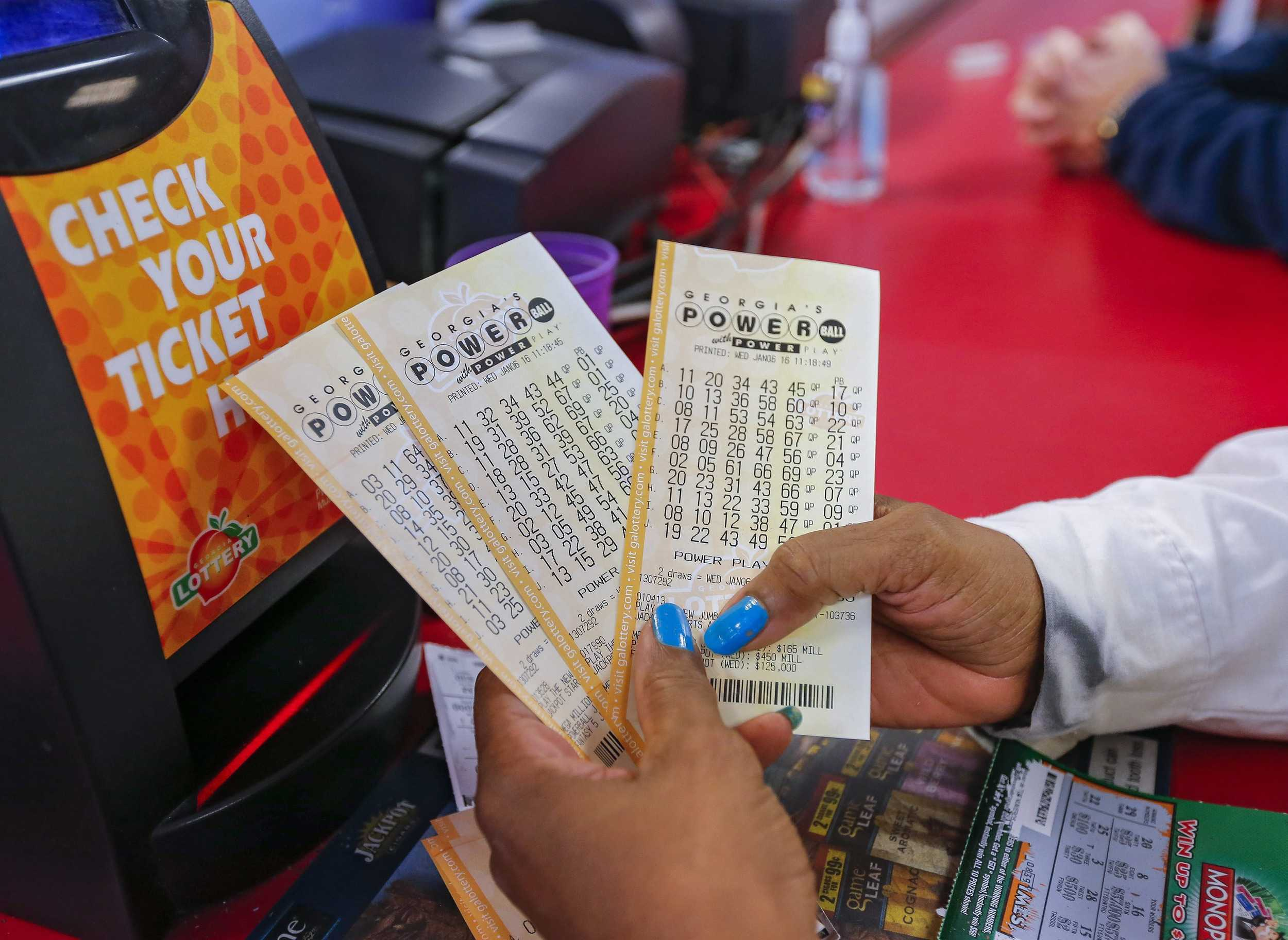 Powerball jackpot to be shared with 3 winners from california, florida and tennessee | daily mail online