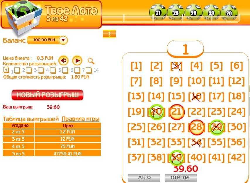 Как играть в «русское лото» — правила игры самой популярной российской лотереи