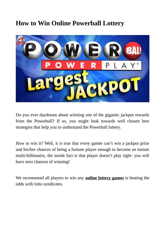 La plus grande loterie des états-unis maintenant disponiblea tous
