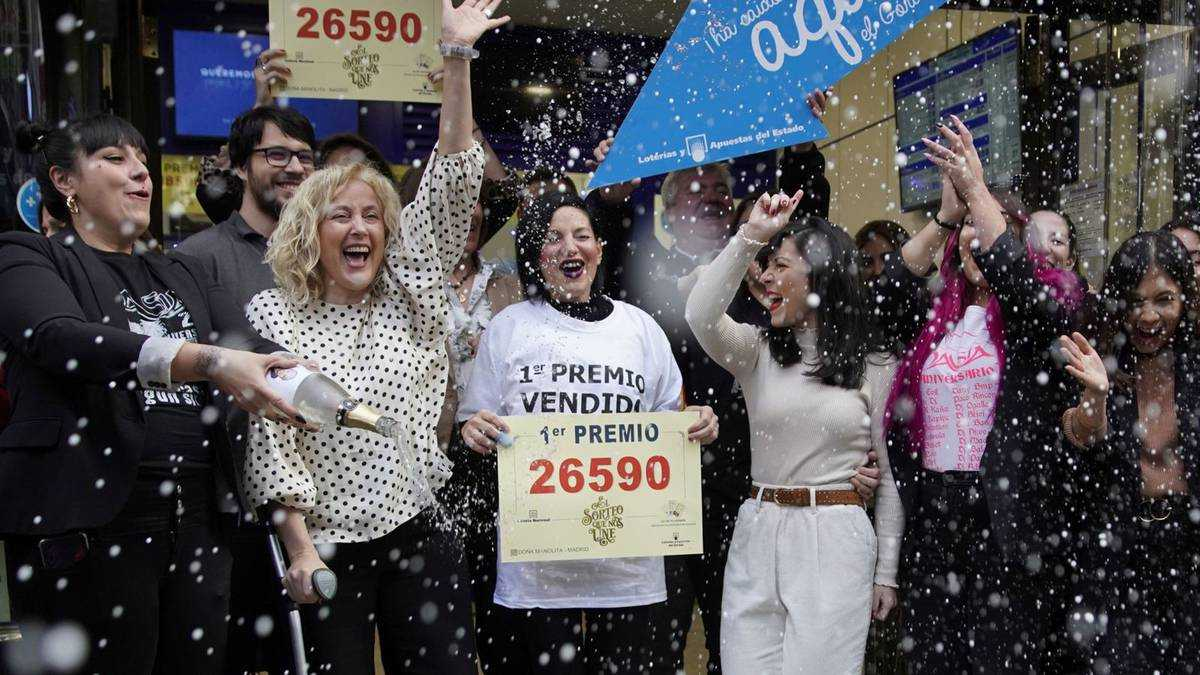 Sodeto, Spanien. den lykkeligste landsby i verden - timelotteri