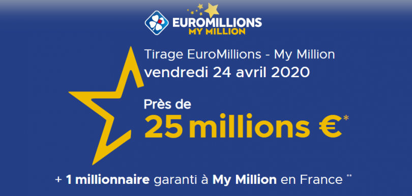 Euromillions fdj result ⇒ all euromillion results from 9:30 p.m.