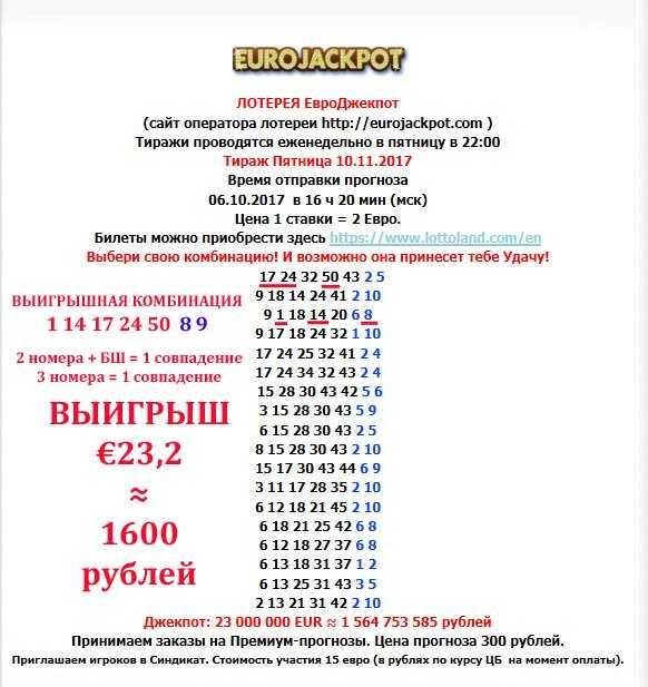 يانصيب Eurojackpot