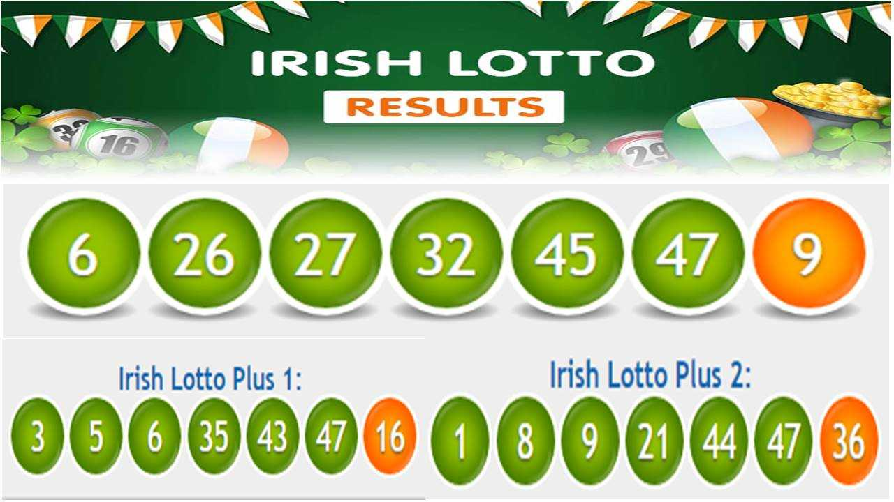 Irish lotto results › latest
