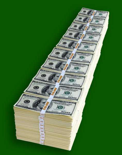 3000000000 us dollars (usd) in rubles (rub) for today, how much are three billion us dollars